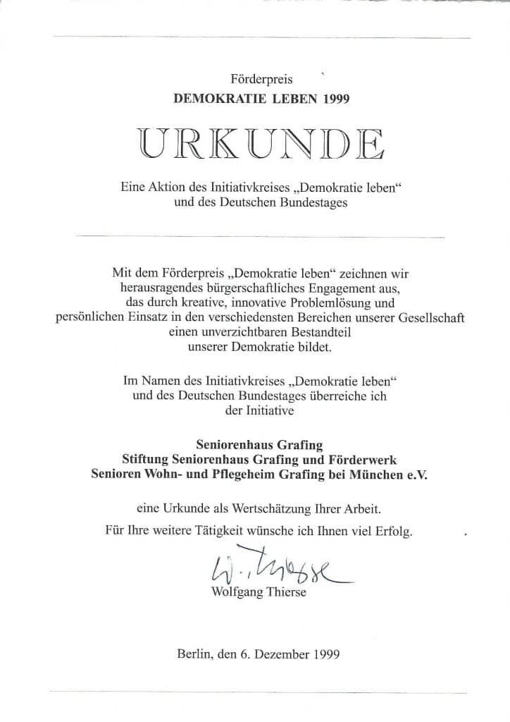 "Förderpreis ""Demokratie leben"""